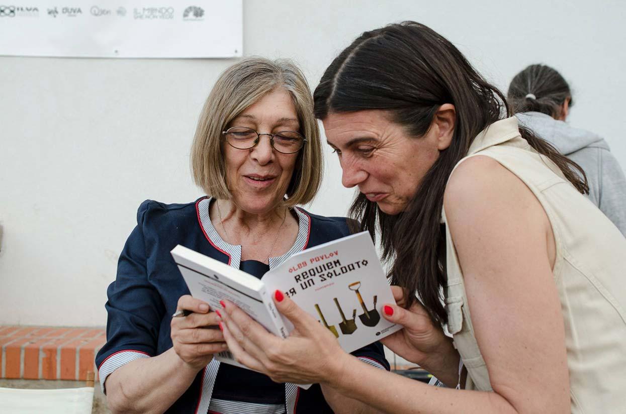 Rosa Mauro, vincitrice del Premio Lorenzo Claris Appiani per la miglior traduzione.