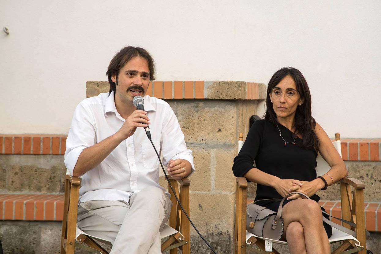 Andrea Gullotta e Giulia Marcucci