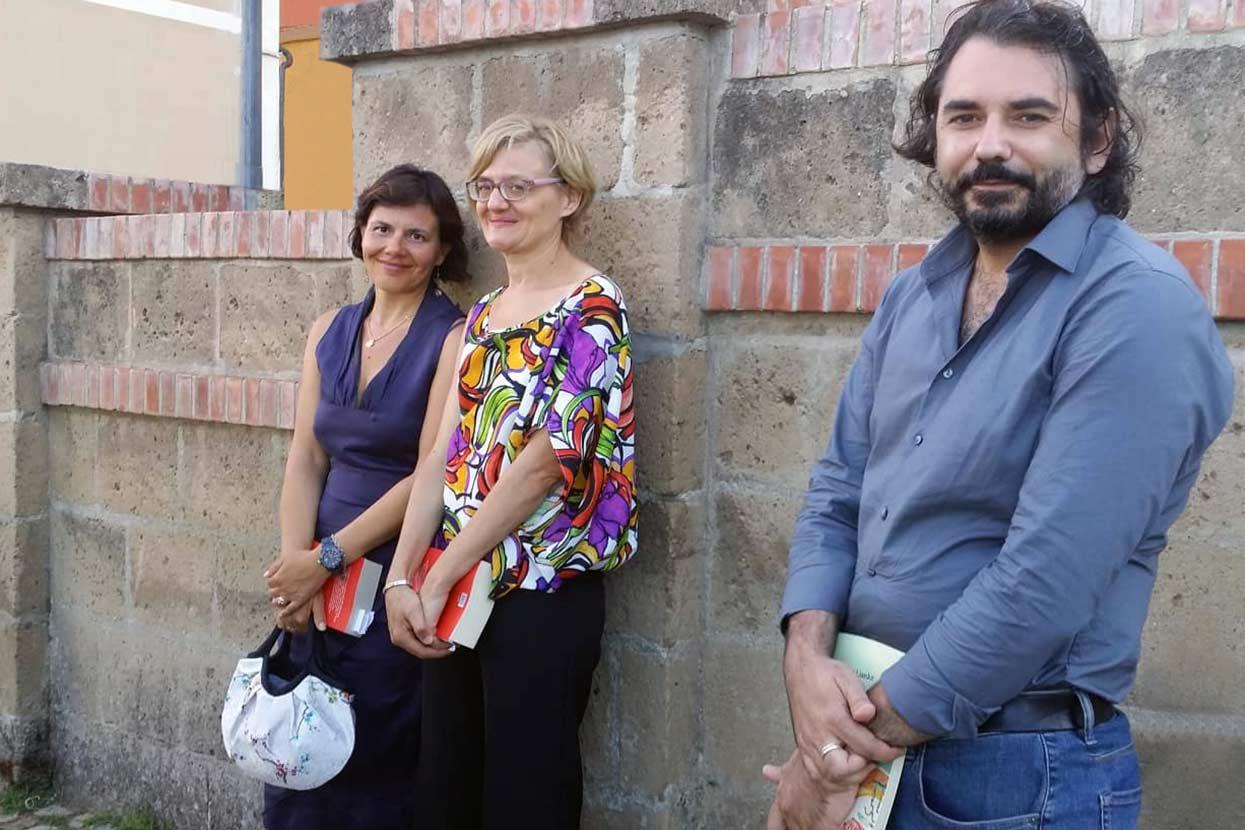 Vincitori Premio Lorenzo Claris Appiani 2018: Marco Fumian, Barbara Leonesi e Caterina-Viglione